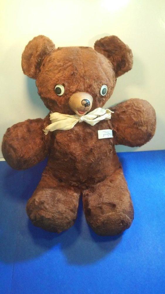 Antique Vintage Gund Toy Teddy Bear Quot Cubbie Quot Rubber Nose