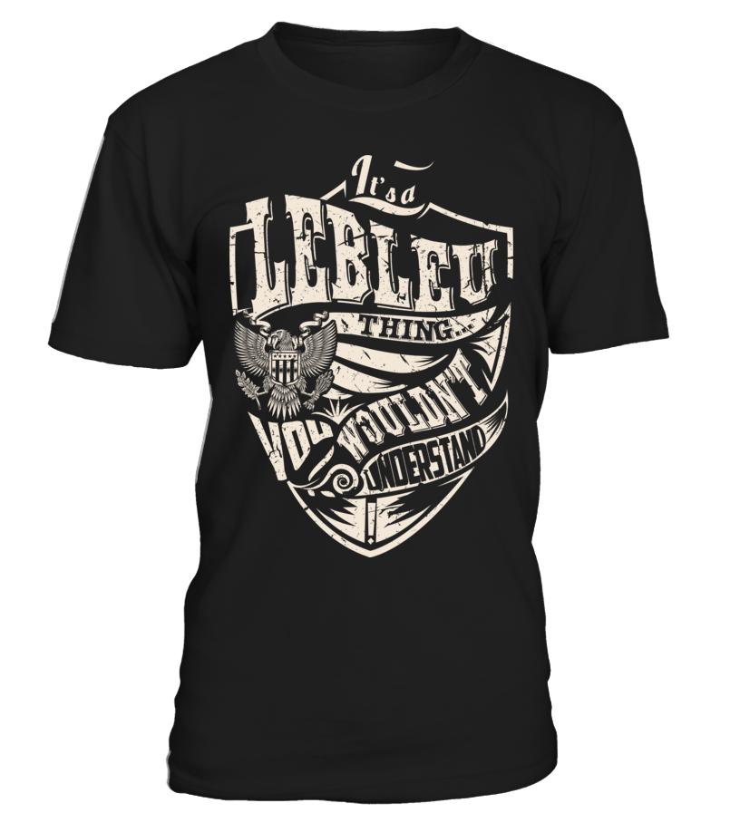 It's a LEBLEU Thing