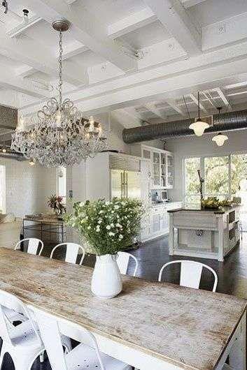 Arredare la cucina in stile country chic | decor | House, Home ...