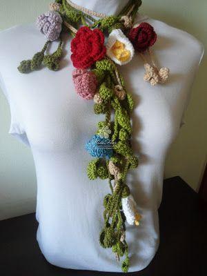 Vânia Alves /Handmade: cachecolares e cordoes