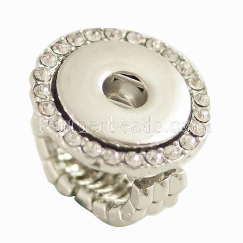 뜨거운 판매 고품질의 패션 DIY 맞게 생강 18/20 mm 금속 링 스냅 버튼 kb0528 보석