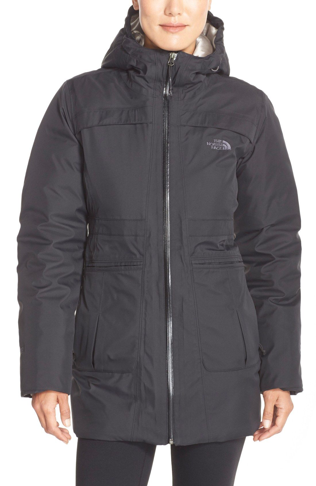 The North Face 'Empire' HyVent® Waterproof Down Jacket (Nordstrom ...