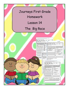 Journeys first grade reading houghton mifflin harcourt publishing journeys first grade reading houghton mifflin harcourt publishing company daily homework to go along with fandeluxe Images