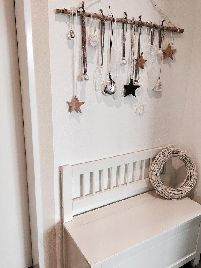 die besten 25 deko weihnachten weiss ideen auf pinterest weihnachten t r kr nze. Black Bedroom Furniture Sets. Home Design Ideas