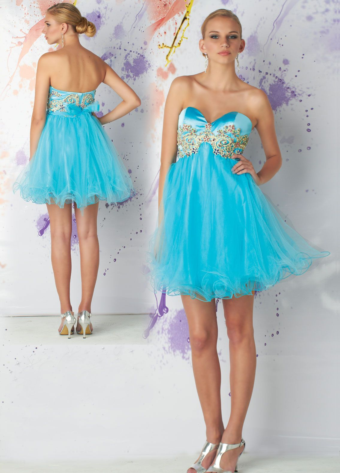 Prom strapless baby doll dress. | magpie dresses | Pinterest | Baby ...