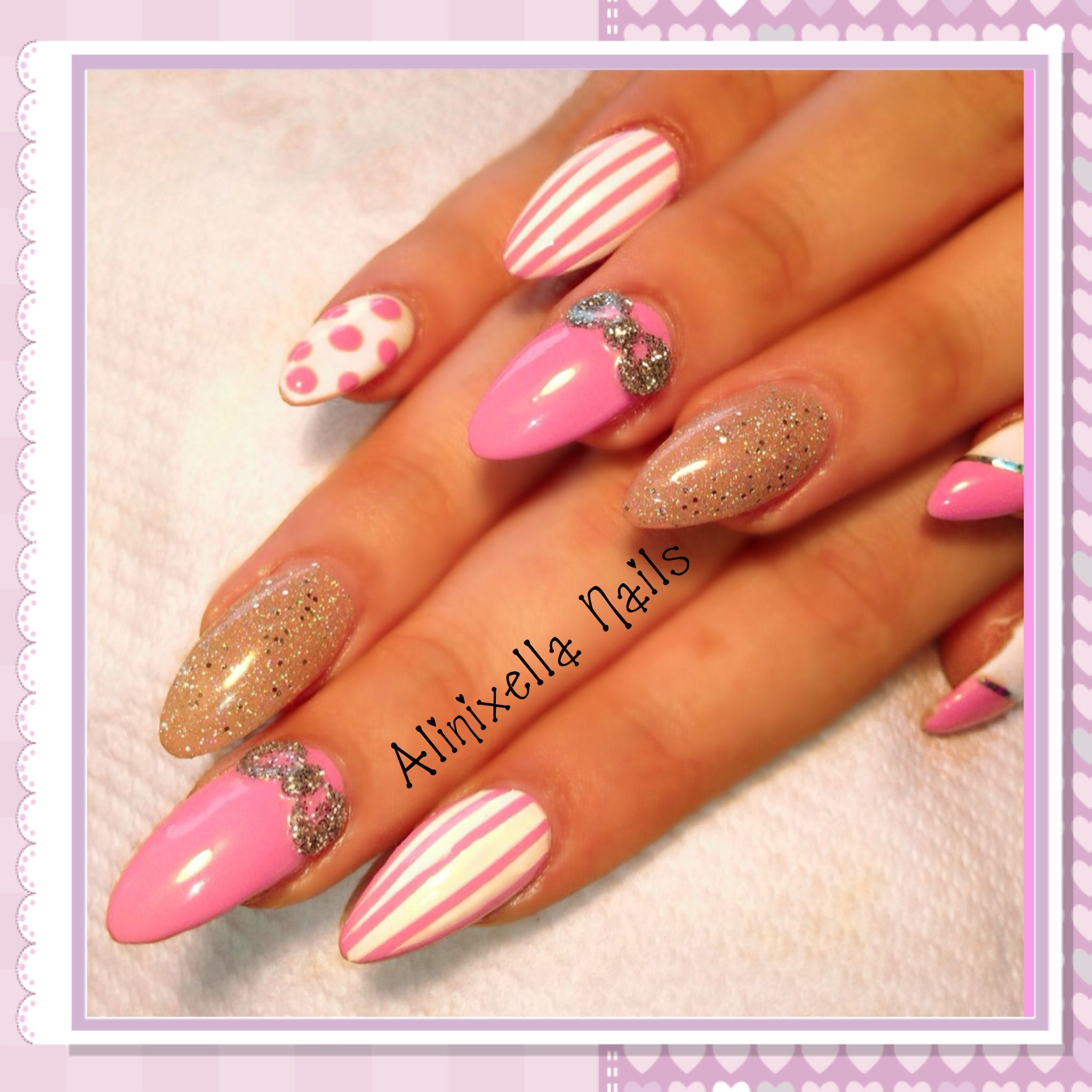 If only they wasn\'t freakishly pointy | Nails! | Pinterest | Nail ...
