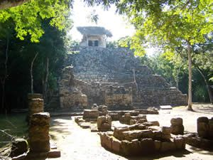 coba, riviera maya, las ruinas... aldeazama.com