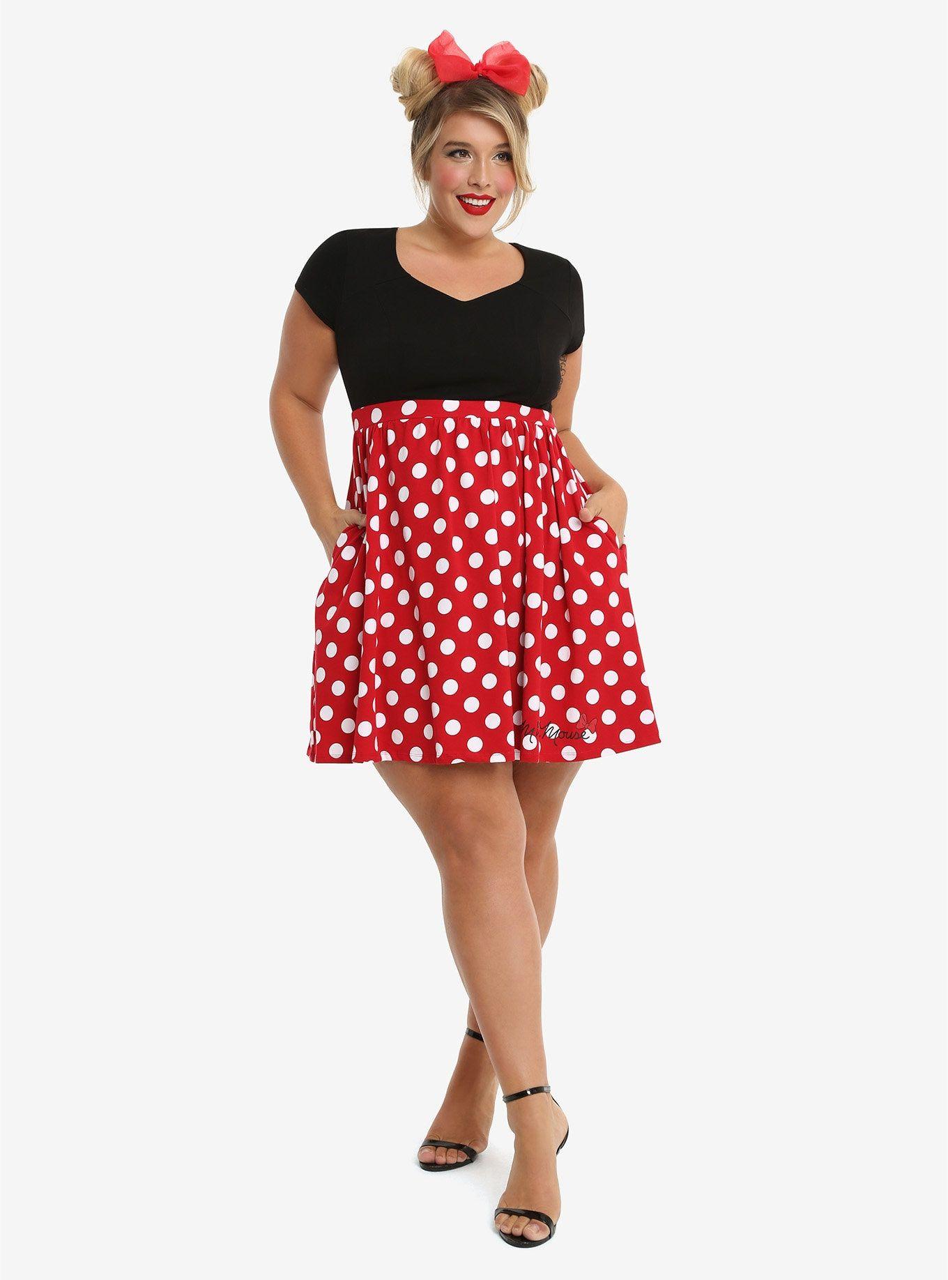 Disney Minnie Mouse Polka Dot Dress Plus Size | Know thyself and ...