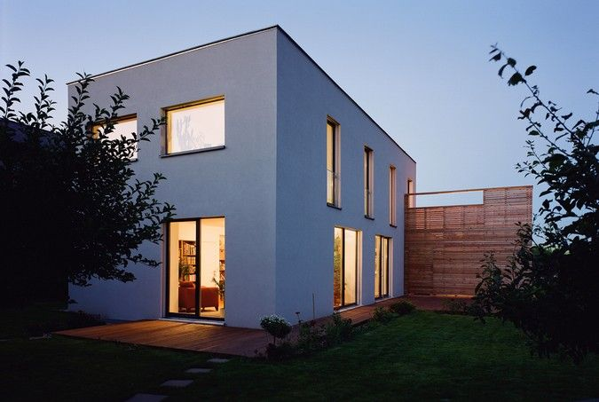 Architecture Project Passive House Building In Gerasdorf Made By Architekt Dipl Ing Fh Thomas Abendroth Building A House Passive House Modern Architecture