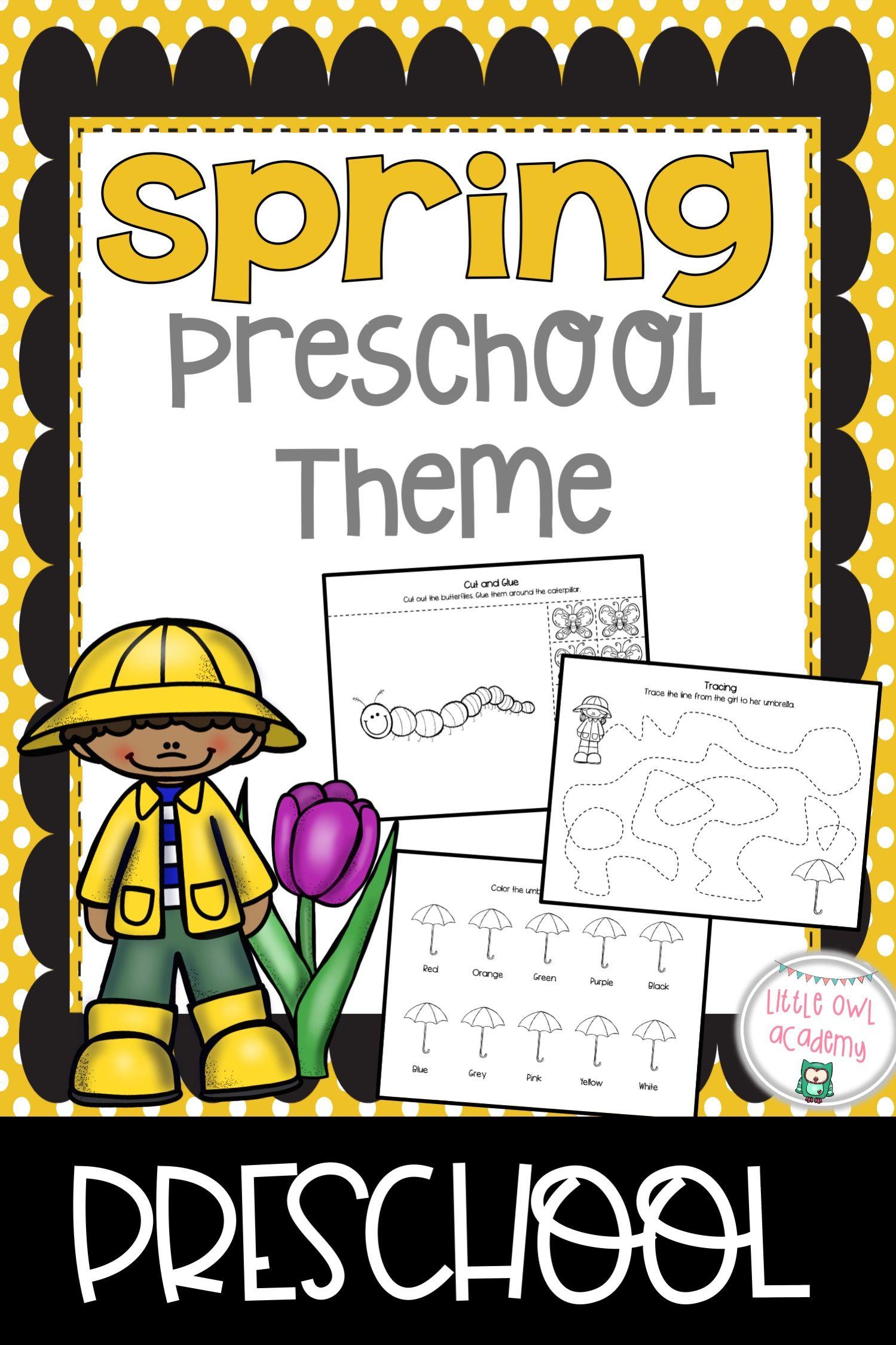 Spring Preschool Theme
