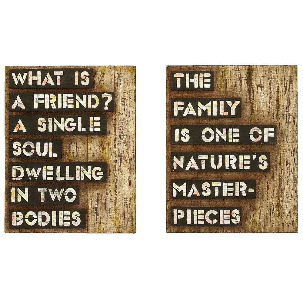 Inspirational on wall decor with inspirational friends and