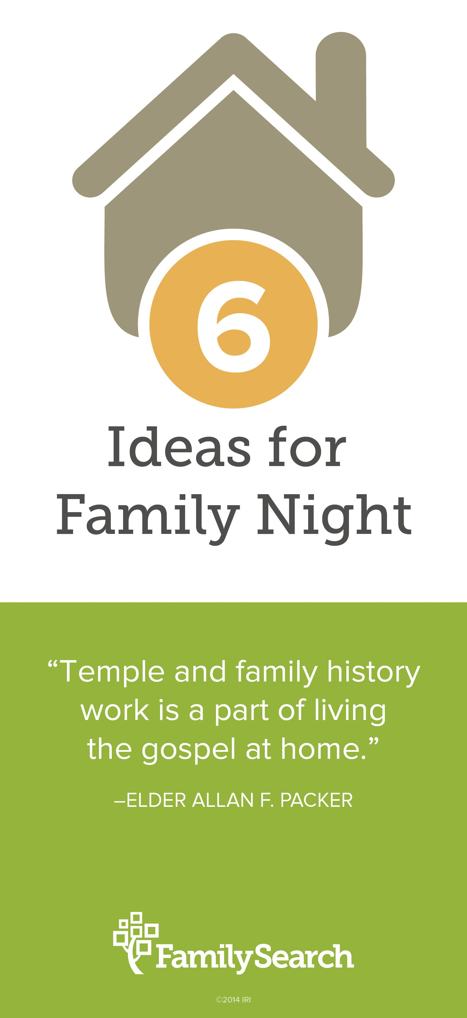 6 Quick And Easy Family Home Evening Lessons To Introduce
