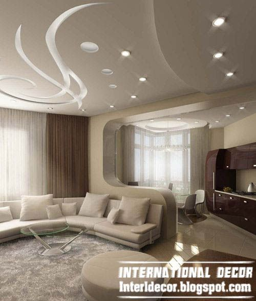 Modern False Ceiling Design Ideas For Living Room With Modern Lighting And  Finish Part 29
