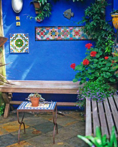moroccan garden ideas - Google Search | Spain garden | Pinterest ...