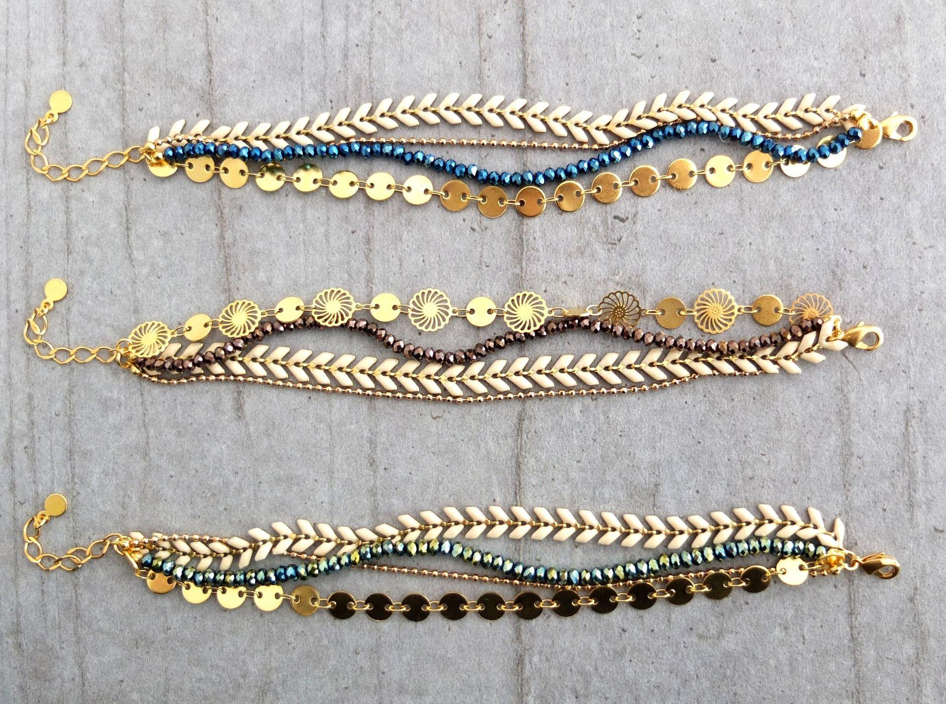 Gold Filled Extension chain gold filled Extender Pour Colliers Bracelets Bracelets de cheville avec fermoir
