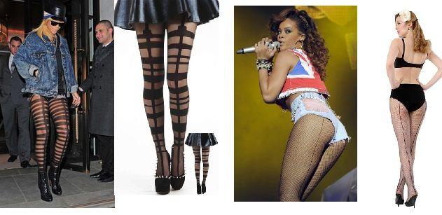 Rihanna queen of hosiery on the BLOG