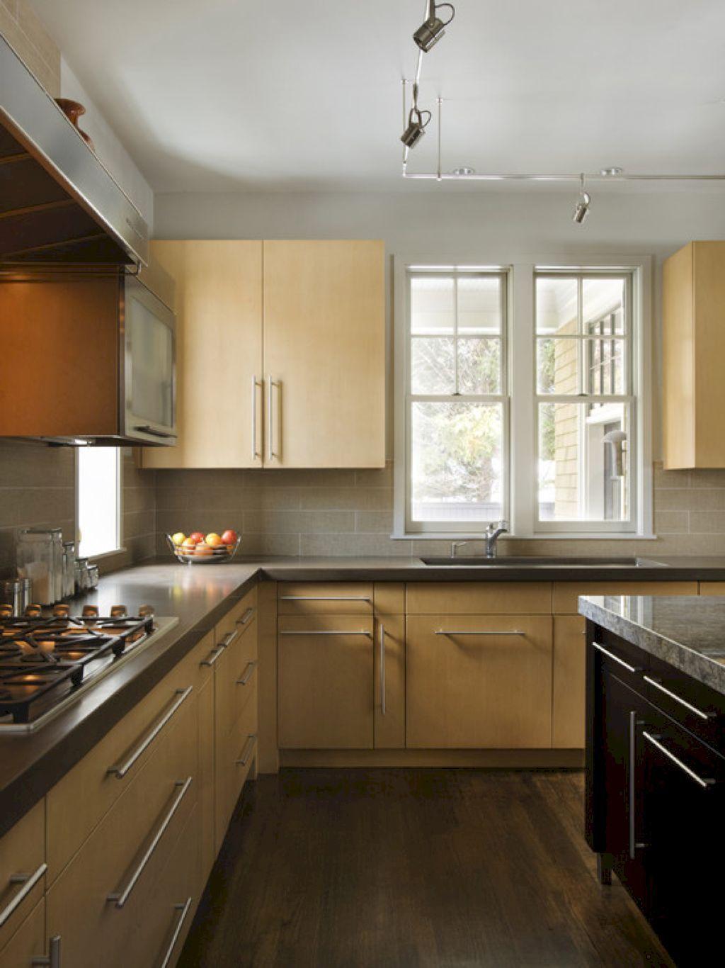 71 Modern Kitchen Cabinetry Decor Ideas Natural Wood Kitchen