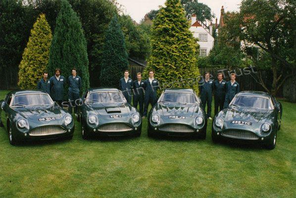 The Four Aston Martin Db4 Gt Zagato Sanction Ii For More Informations Please Visit Www Astonmartin Zagato Net
