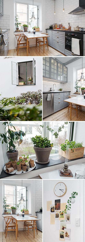 Hemnetgodis P Erik Dahlbergsgatan 33 Trendenser Swedish Interior DesignSwedish InteriorsBright KitchensBlack