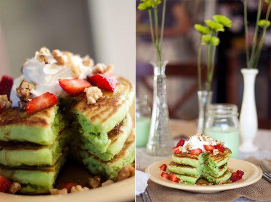 St. Patrick's Green Breakfast