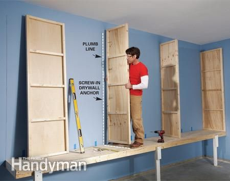 Giant DIY Garage Cabinet | The Family Handyman