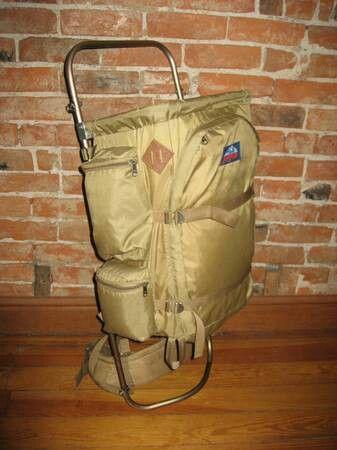 1976 Jansport external frame vintage hiking backpack | JanSport ...