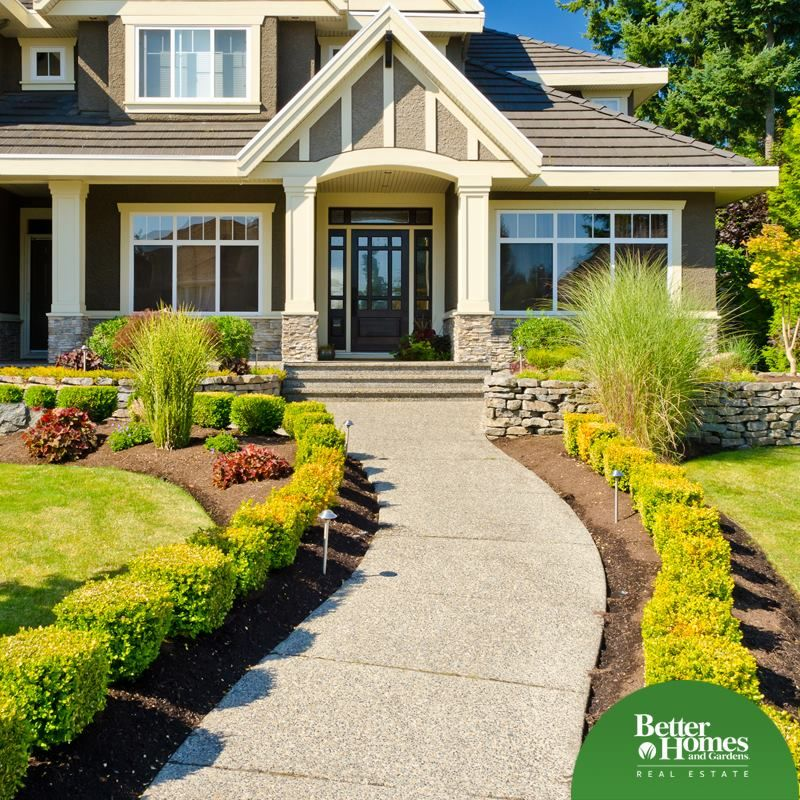 Great Curb Appeal | Front yard landscaping design, Better ...