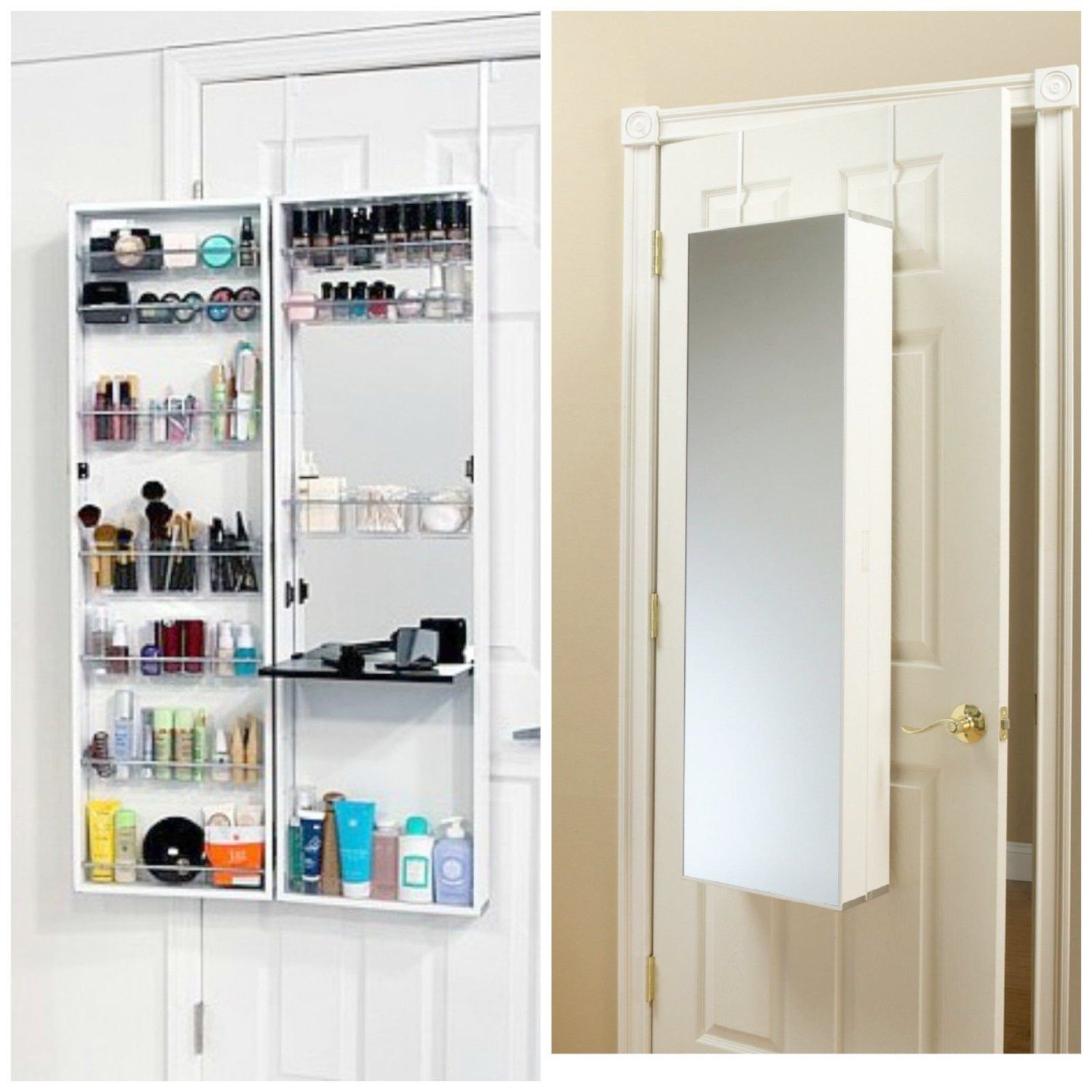 Wall Mounted Spice Cabinets With Doors