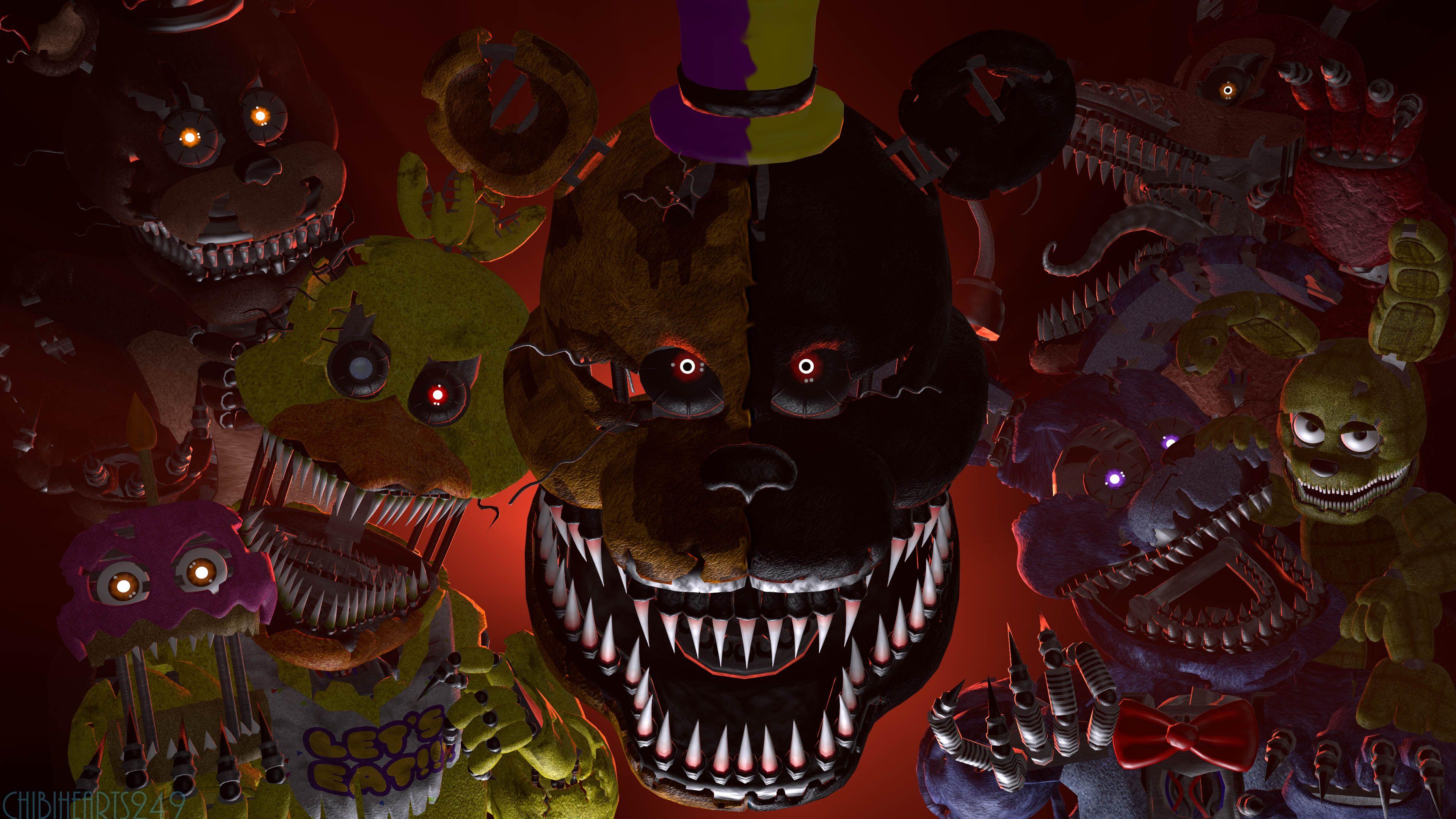 fnaf spoopy sfm poster Fnaf wallpapers, Fnaf, Scary