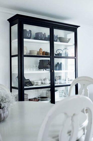 Pin von Aleksandra Miecznicka auf Kitchen Pinterest Vitrine - wohnzimmer vitrine weis