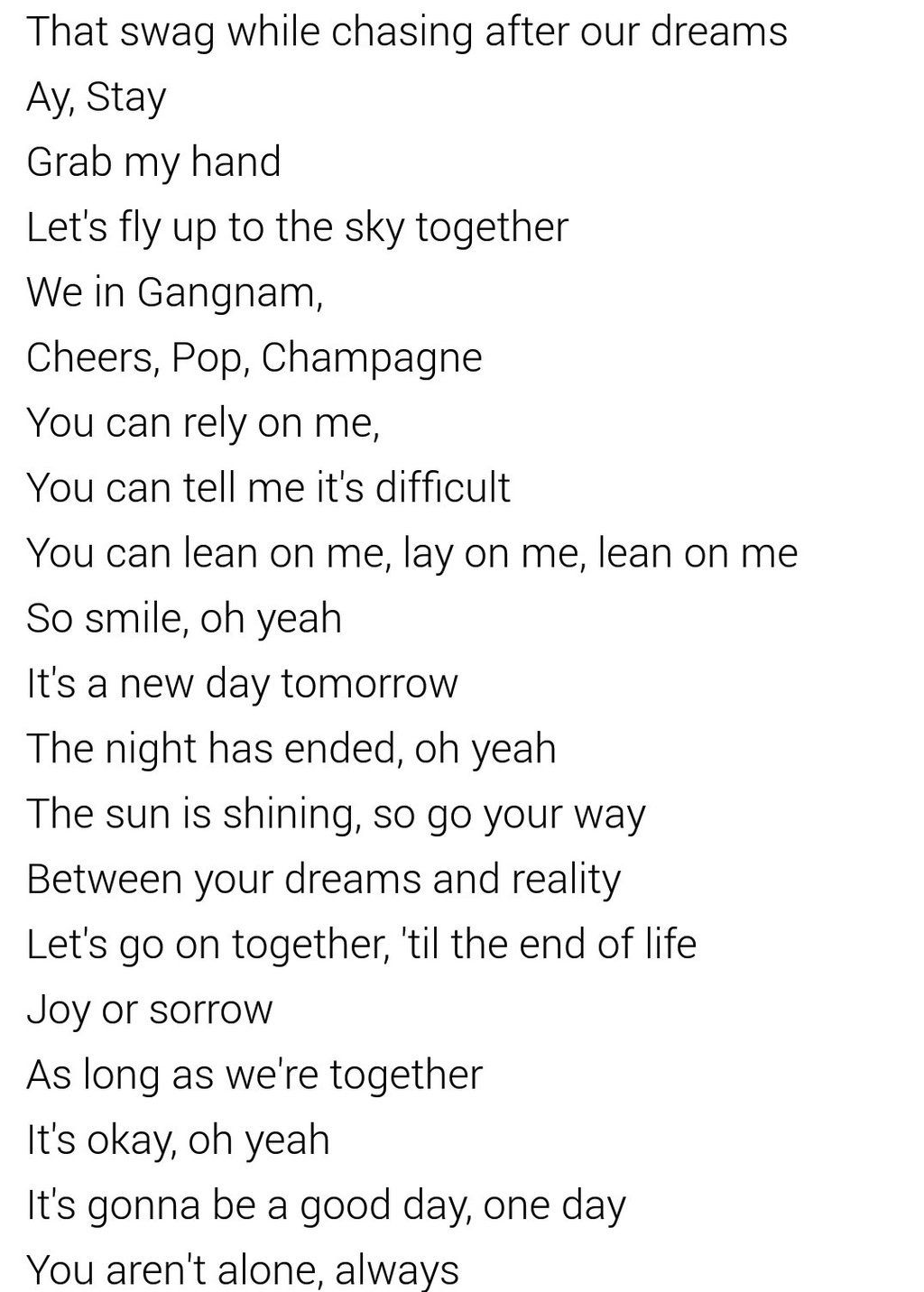 """BTS Japanese song """"Good Day"""" Lyrics Japanese song, Up to"""