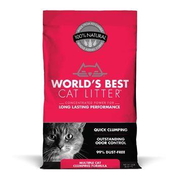 World S Best Cat Litter Multiple Cat Clumping Formula 7 Lbs Petco Best Cat Litter Natural Cat Litter Cat Litter