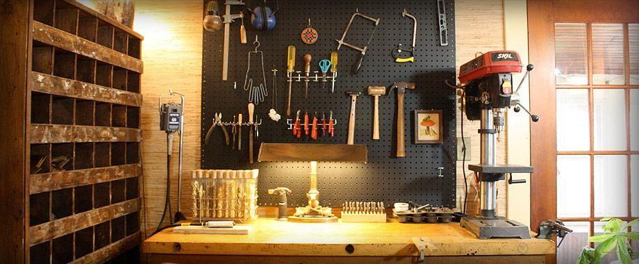 Dream Jewelry Studio!! Christine Domanic Brass jewelry