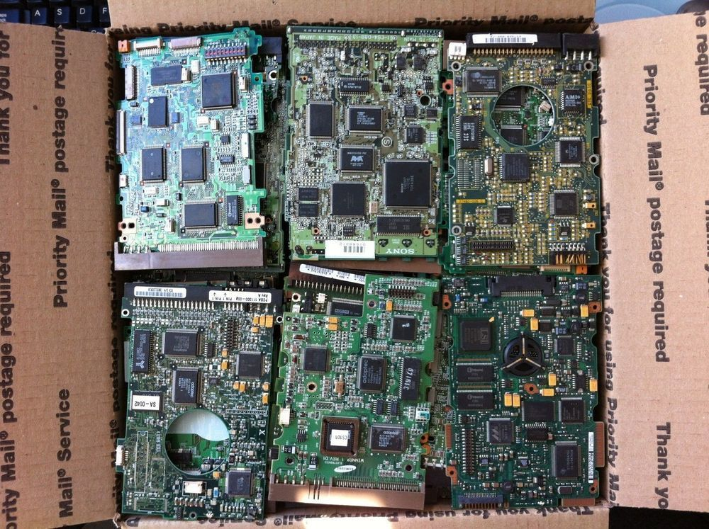 15 lbs of hard drive pcb boards for scrap gold recovery technology rh pinterest com