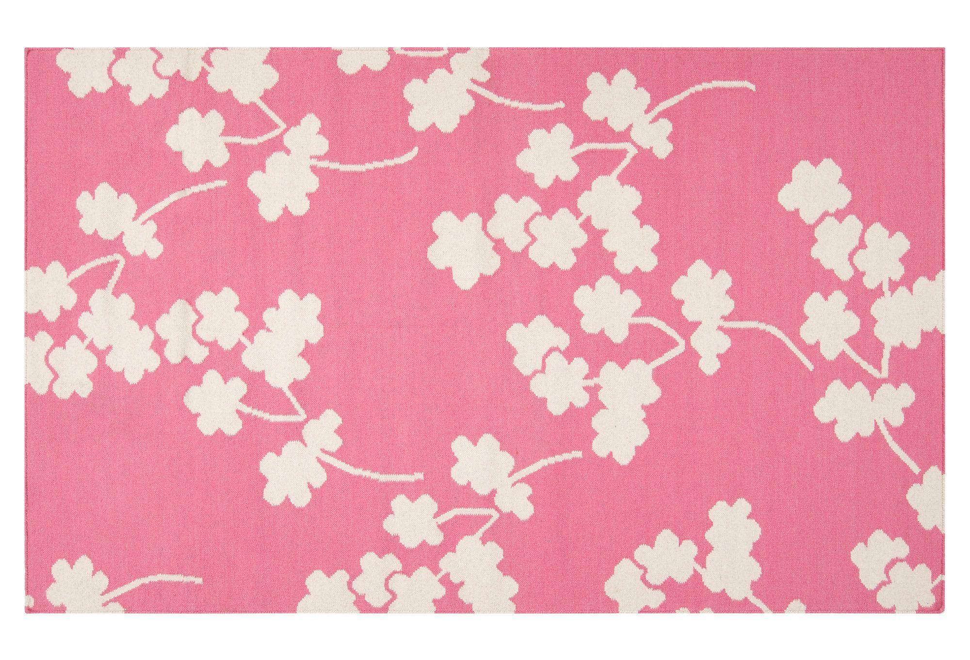 Columbia Rug, Flamingo Pink   One Kings Lane