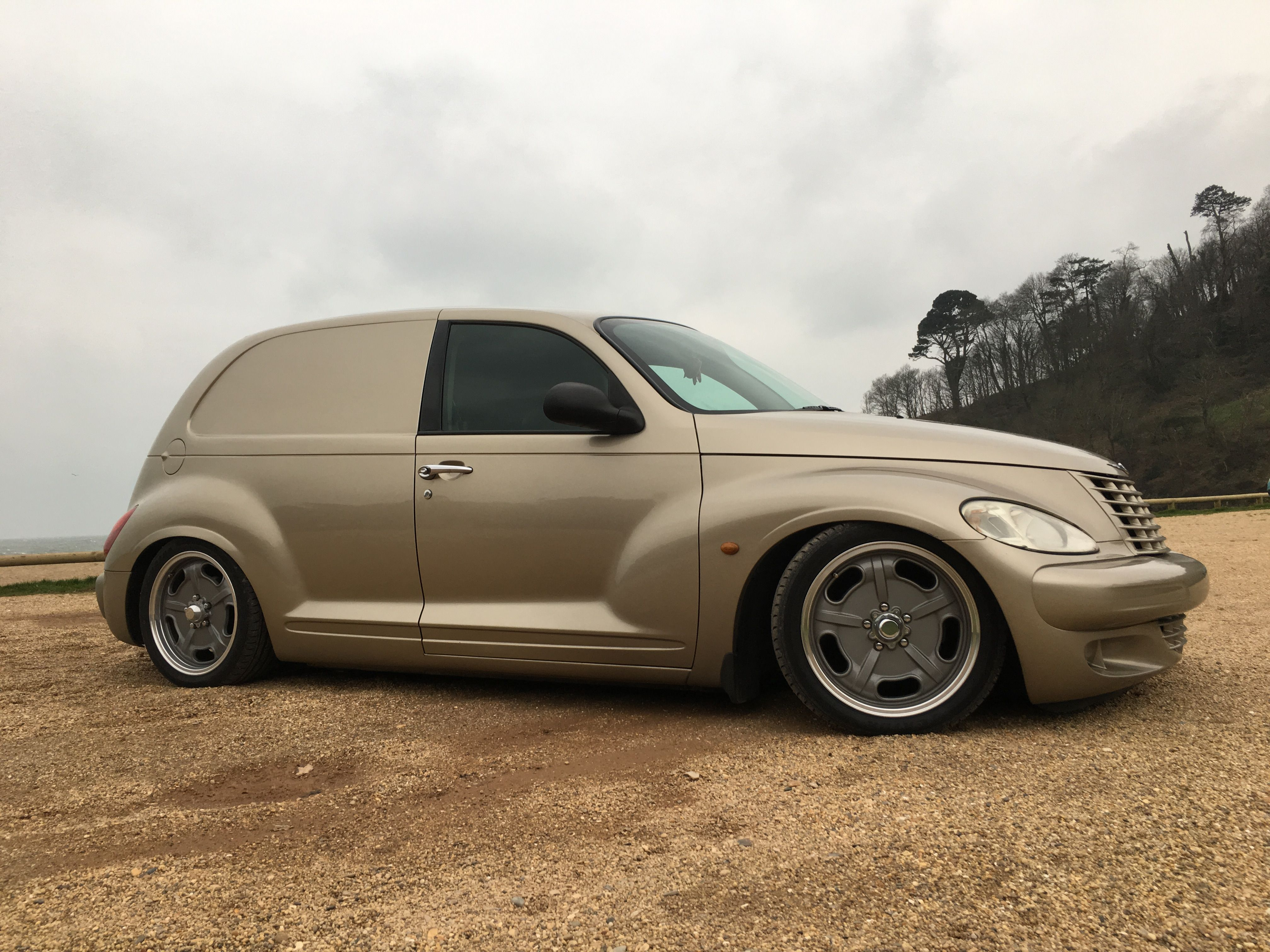 Bagged Pt Cruiser Panel Van Standard Delivery Stanced Wagon Chrysler Chevy Vans