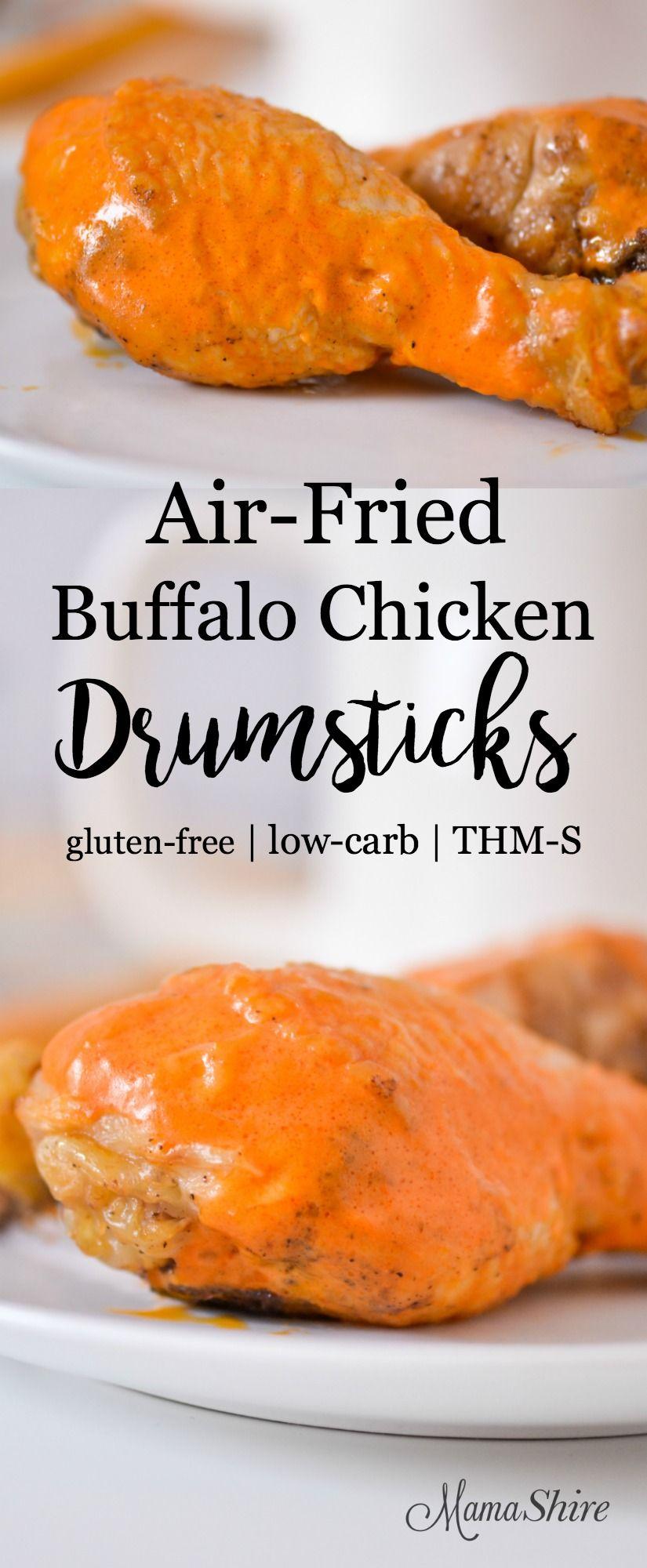Air Fryer Buffalo Chicken Drumsticks Recipe Chicken