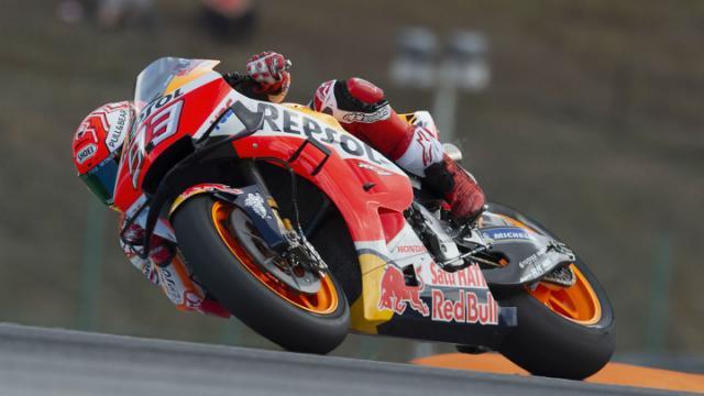 Motogp Raceweek Marquez Defies Brno Rain For Record Equalling Pole Motogp Valentino Rossi Red Bull Ktm