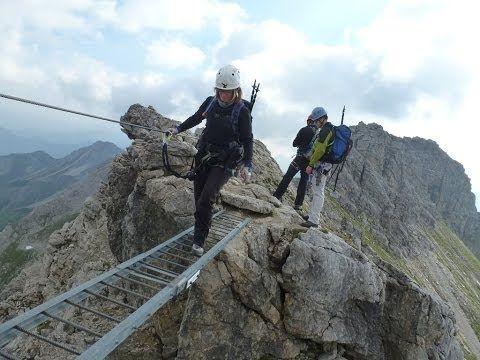 Klettersteig Levels : Mindelheimer klettersteig via ferrata klettersteige