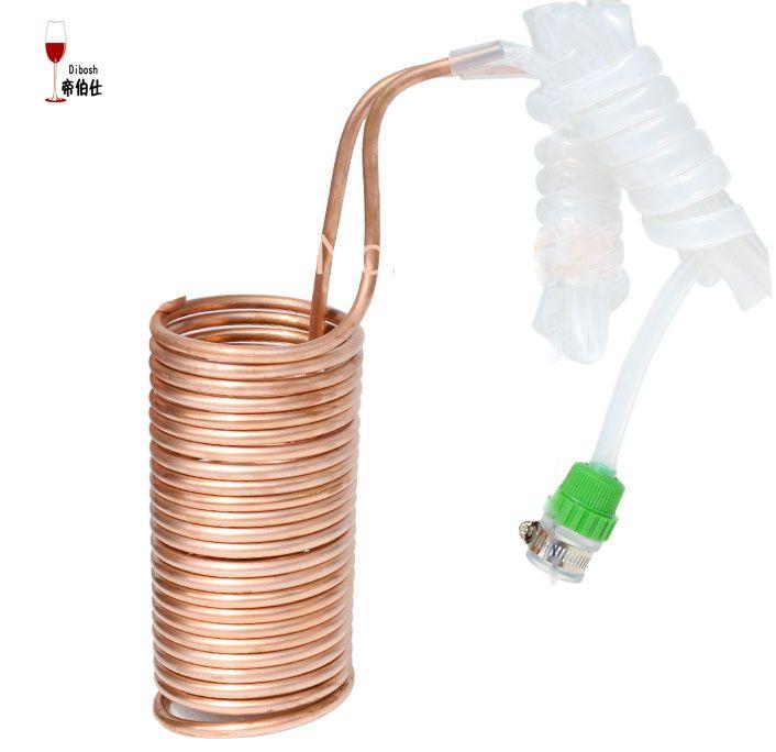 Wort Chiller Copper Cooling Coiler Heat Exchanger For Beer Cooling
