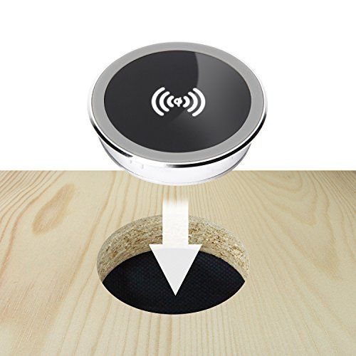 Built In Wireless Charger Diy Charging Nightstand