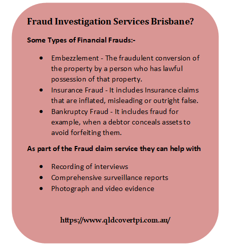 Fraud Is Serious And Should Be Investigated As Soon As It S