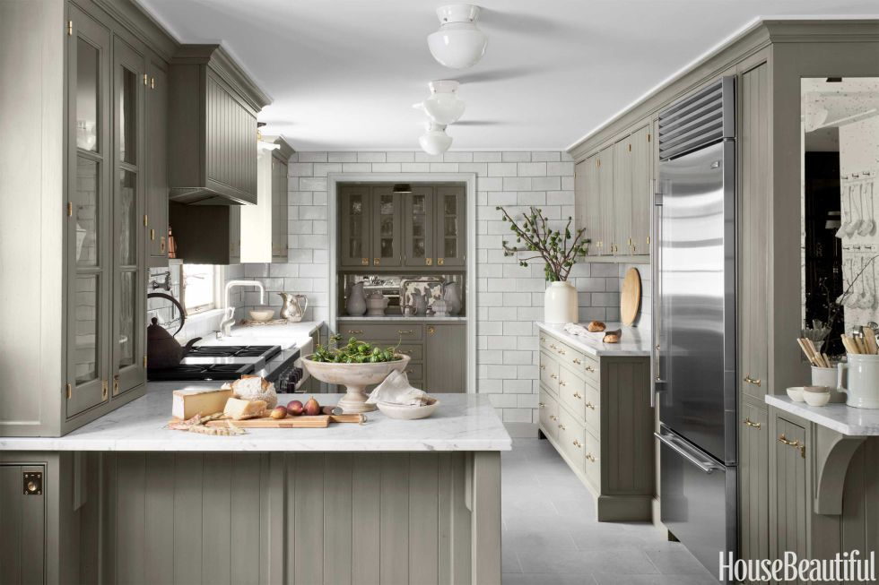 Kitchen Designers Nj Endearing How To Update Neutrals With This Eyecatching Accent Color 2018