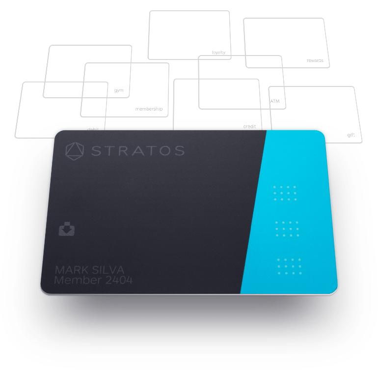 Stratos Card Credit card design, Elegant business cards