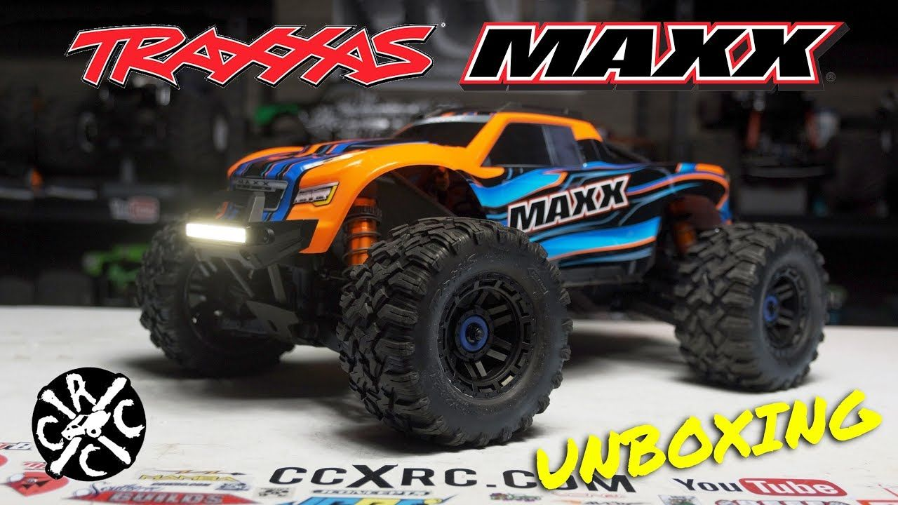 NEW TRAXXAS MAXX Unboxing & First Look. I LOVE iT, Except