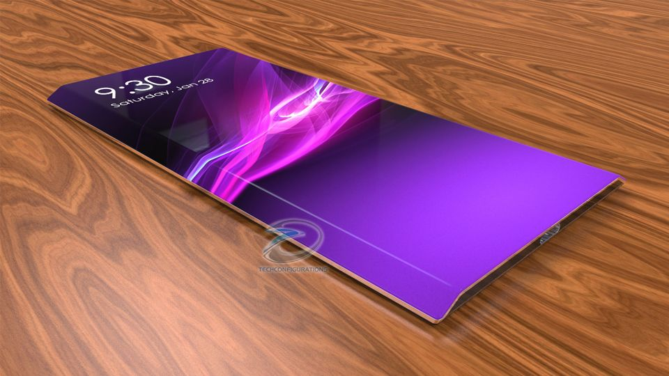 Concept Images Video Of A Sony Xperia Edge Smartphone Sony Xperia Smartphone Sony