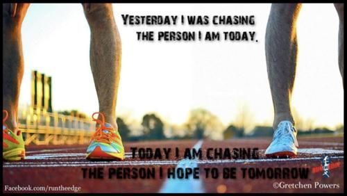 Each day we can strive to be in better shape than we were yesterday! Push yourself harder, and start seeing more results!!
