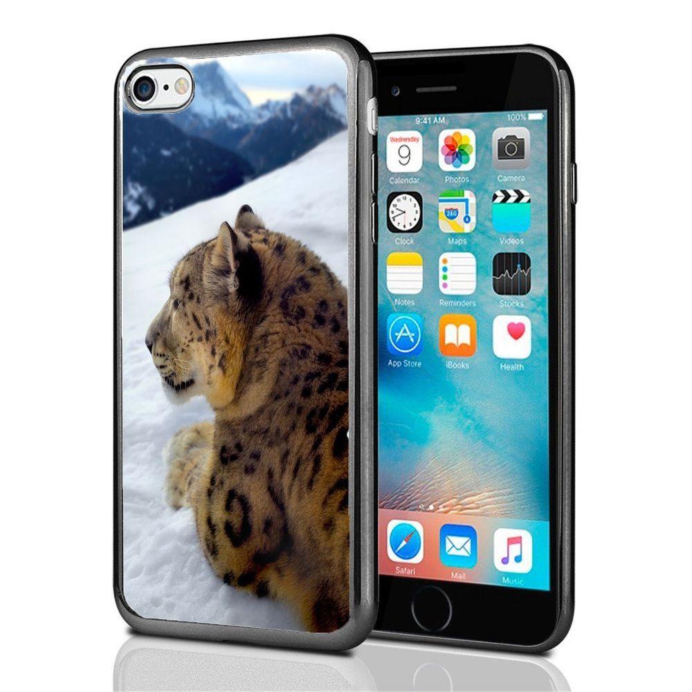 Iphone 7 Case Cover Snow Leopard Design AtomicMarket