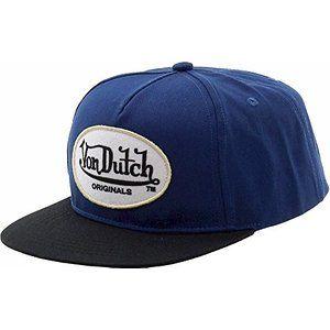 a7a9131b2a733 Von Dutch Men s Originals Blue Black Baseball Cap Hat (One Size Fits Most)