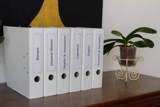Papiers Ranges Blog Ca Infuse Rangement Papier Administratif Rangement Papier Bureau Et Rangement Classeurs